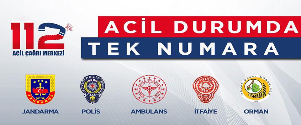 Samsun'da Artık Tüm Acil Çağrı Numaraları 'Tek Numara 112'de Birleşti