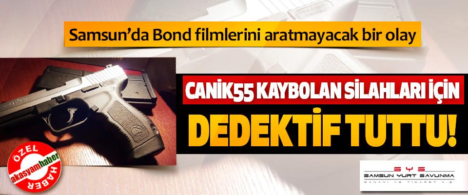 Samsun'da Bond filmlerini aratmayacak bir olay