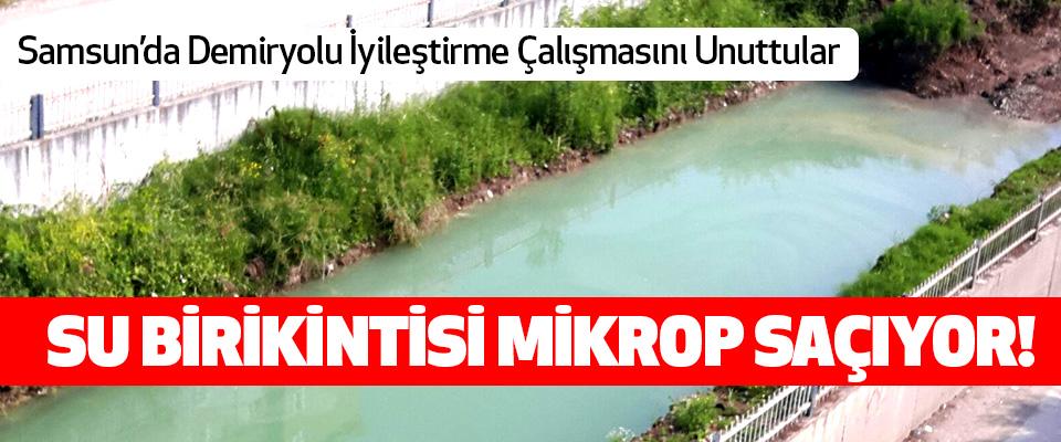 Samsun'da Demiryolu İyileştirme Çalışmasını Unuttular