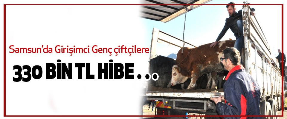 Samsun'da Girişimci Genç çiftçilere 330 Bin Tl Hibe…