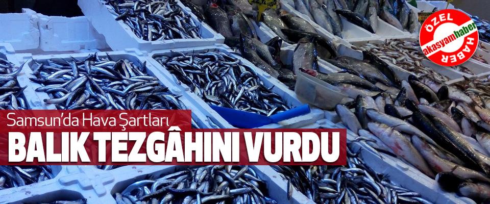 Samsun'da Hava Şartları Balık Tezgâhını Vurdu