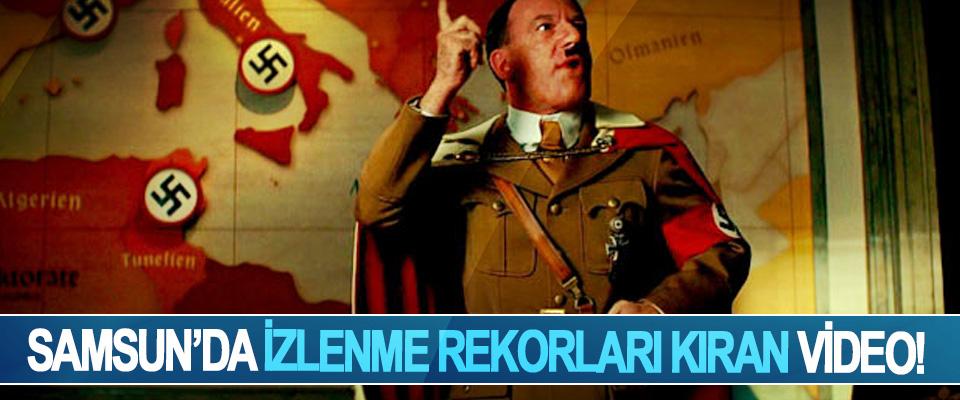 Samsun'da izlenme rekorları kıran video!