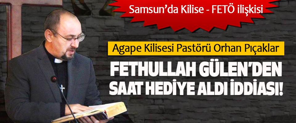 Samsun'da Kilise - FETÖ ilişkisi