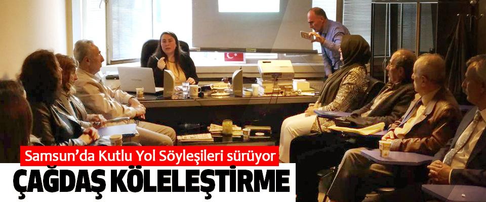 Samsun'da Kutlu Yol Söyleşileri sürüyor