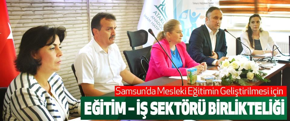 Samsun'da Mesleki Eğitimin Geliştirilmesi için Eğitim – İş Sektörü Birlikteliği