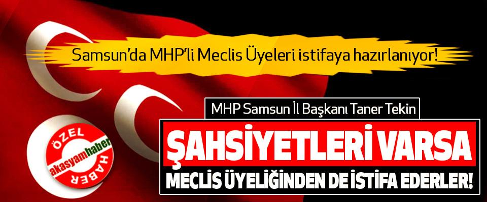 Samsun'da MHP'li Meclis Üyeleri istifaya hazırlanıyor!