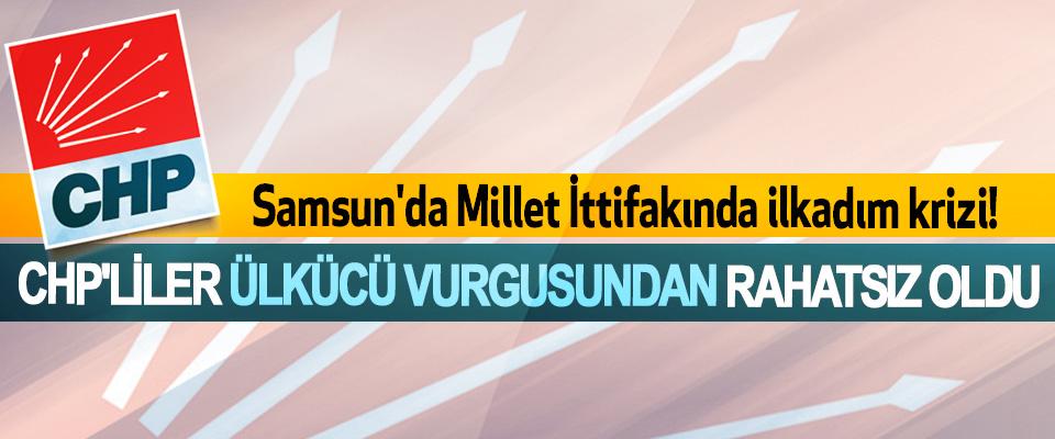 Samsun'da millet ittifakında ilkadım krizi!