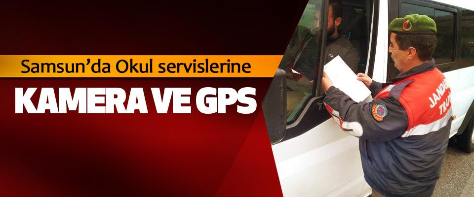Samsun'da Okul servislerine Kamera Ve GPS