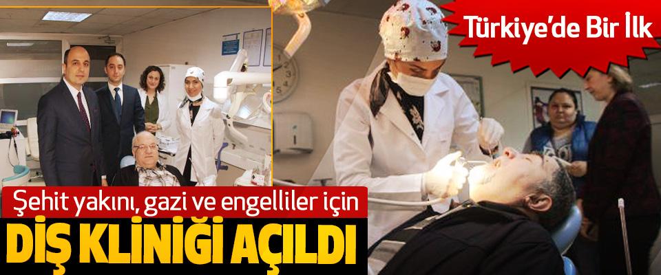 Samsun'da Şehit yakını, gazi ve engelliler için Diş Kliniği Açıldı