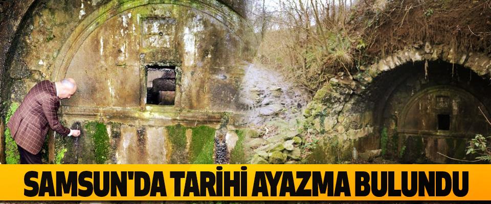 Samsun'da Tarihi Ayazma Bulundu