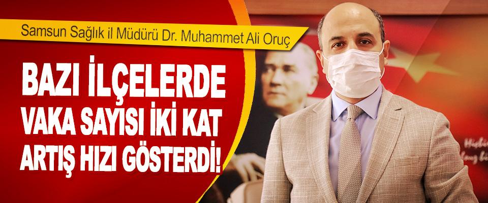 Samsun'da Vaka Sayısı İki Kat Artış Hızı Gösterdi!