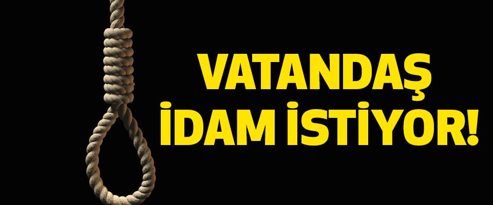 Samsun'da Vatandaş idam istiyor!