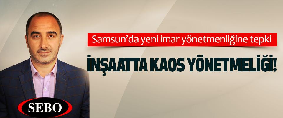 Samsun'da yeni imar yönetmenliğine tepki