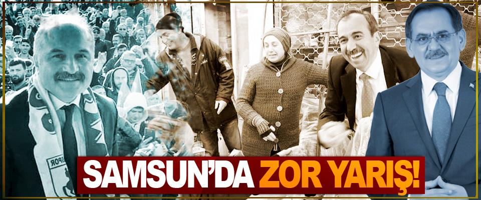 Samsun'da zor yarış!