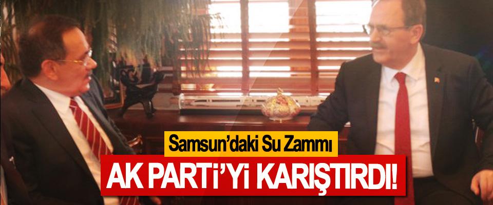 Samsun'daki Su Zammı AK Parti'yi Karıştırdı!