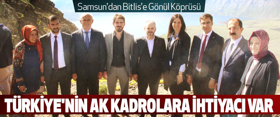 Samsun'dan Bitlis'e Gönül Köprüsü