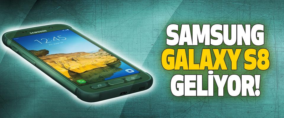 Samsung galaxy s8 geliyor!