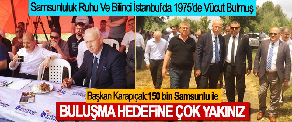 Samsunluluk Ruhu Ve Bilinci İstanbul'da 1975'de Vücut Bulmuş