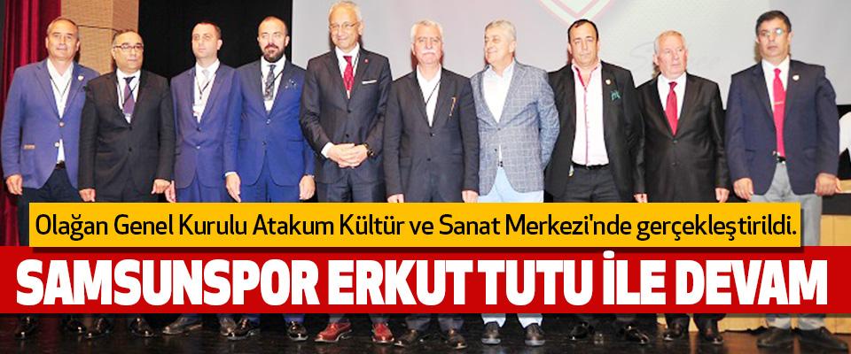 Samsunspor Erkut Tutu İle Devam..