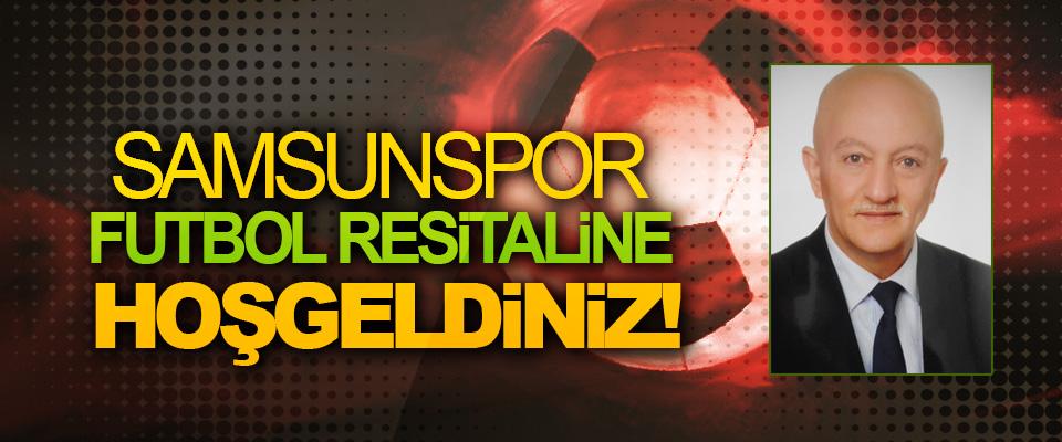 Samsunspor futbol resitaline hoşgeldiniz!