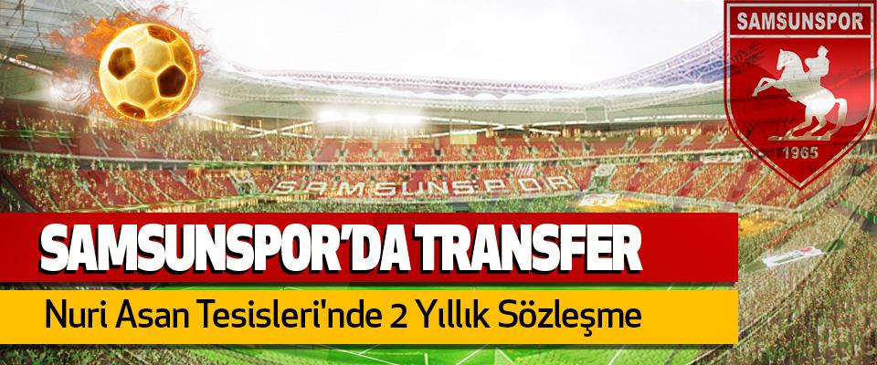 Samsunspor, Ufuk Budak ile imzaladı..