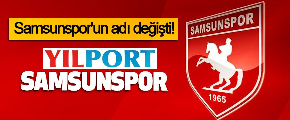 Samsunspor'un adı değişti!