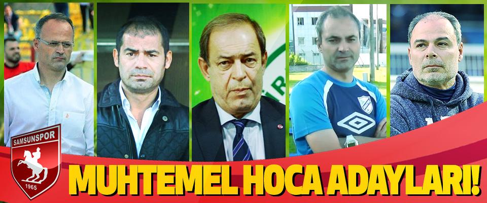 Samsunspor'un muhtemel hoca adayları!