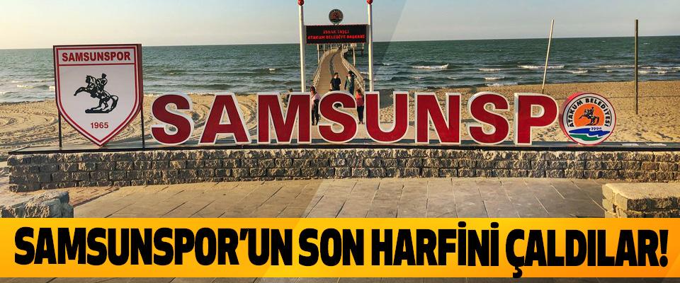 Samsunspor'un son harfini çaldılar!