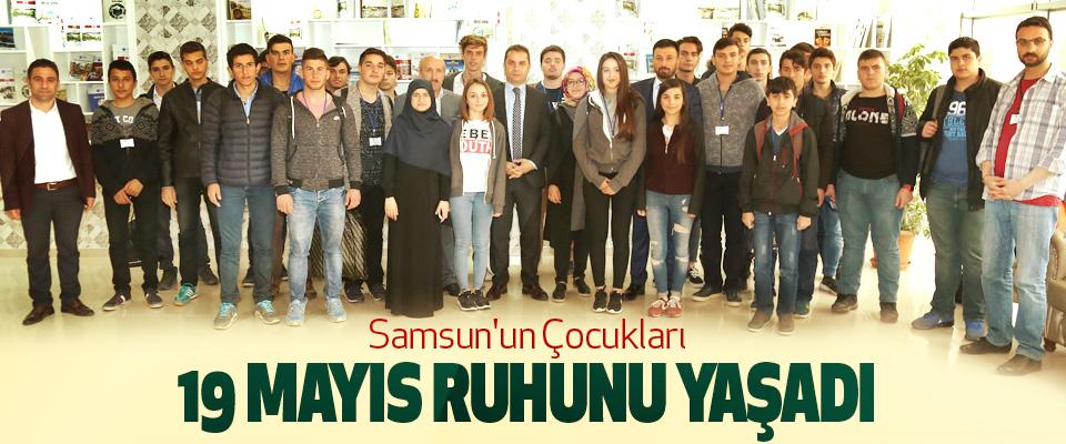 Samsun'un Çocukları 19 Mayıs Ruhunu Yaşadı