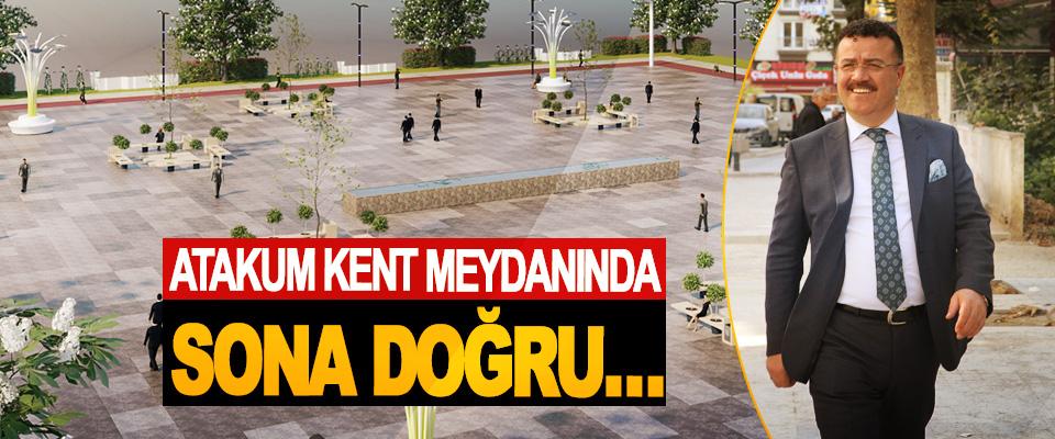 Samsun'un en büyük kent meydanı,