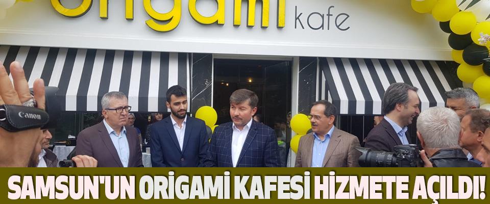 Samsun'un Origami Kafesi hizmete açıldı!
