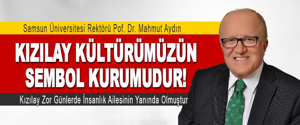 SAMÜ Rektörü Mahmut Aydın