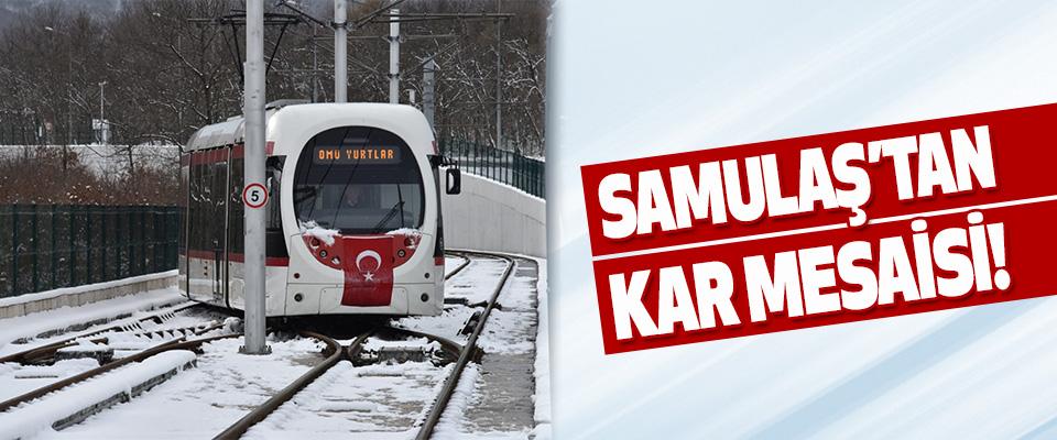 Samulaş'tan Kar Mesaisi!