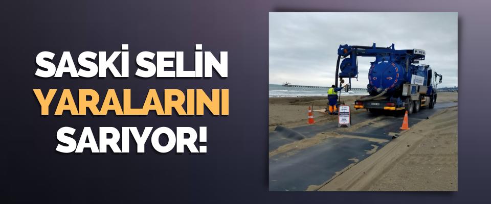 Saski Selin Yaralarını Sarıyor!