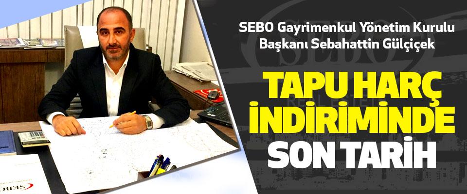SEBO Gayrimenkul Yönetim Kurulu Başkanı Sebahattin Gülçiçek