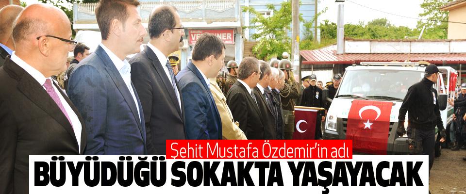Şehit Mustafa Özdemir'in adı Büyüdüğü Sokakta Yaşayacak