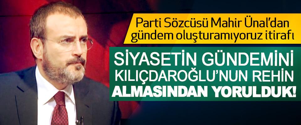 Siyasetin gündemini Kılıçdaroğlu'nun rehin almasından yorulduk!