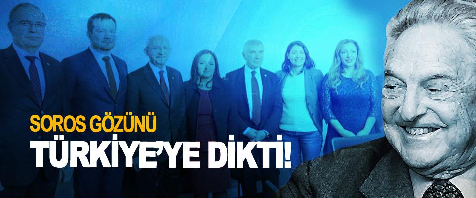 Soros gözünü Türkiye'ye dikti!