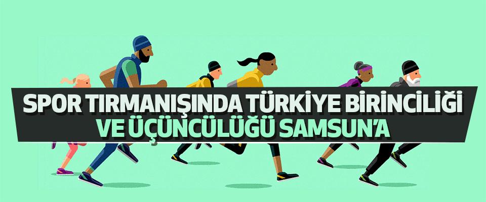 Spor Tırmanışında Türkiye Birinciliği Ve Üçüncülüğü Samsun'a