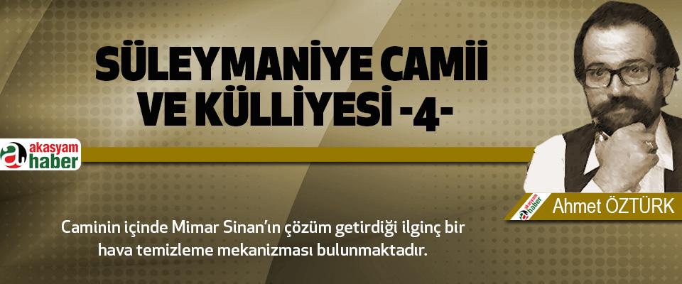 Süleymaniye Camii ve Külliyesi -4-