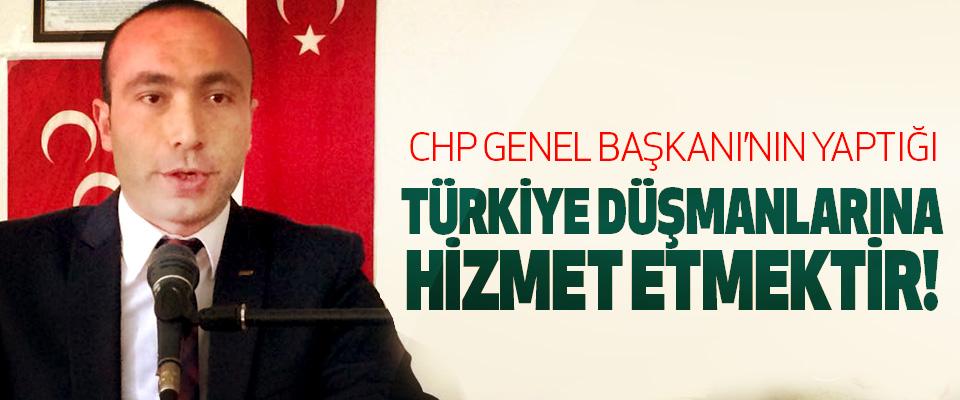 Taner Tekin: Chp genel başkanı'nın yaptığı türkiye düşmanlarına hizmet etmektir!