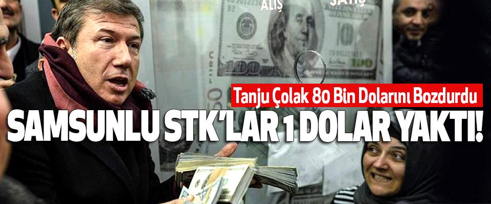 Tanju Çolak 80 Bin Dolarını Bozdurdu