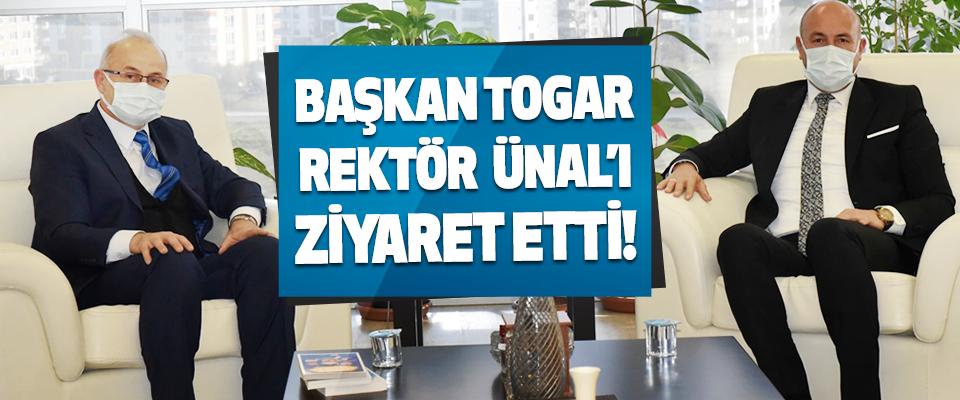 Tekkeköy Belediye Başkanı Togar Rektör Ünal'ı Ziyaret Etti!