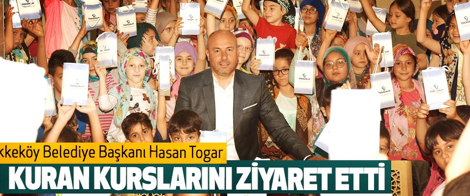 Tekkeköy Belediye Başkanı Hasan Togar Kuran Kurslarını Ziyaret Etti