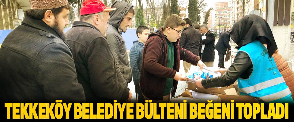 Tekkeköy Belediye Bülteni Beğeni Topladı