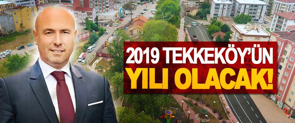 Tekkeköy Belediyesi Yeni Yıla Hazır