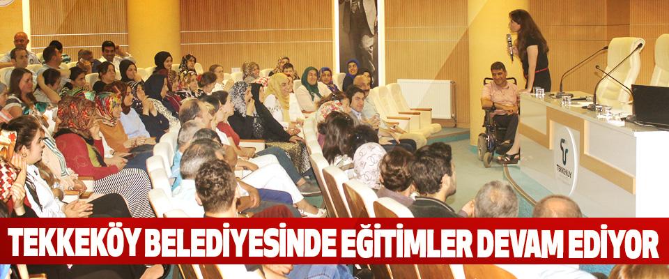 Tekkeköy Belediyesi Personelinin Motivasyonu Arttırıyor