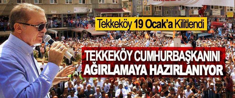 Tekkeköy Cumhurbaşkanını Ağırlamaya Hazırlanıyor