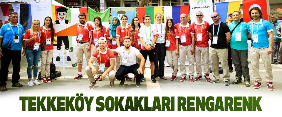 Tekkeköy Sokakları Rengarenk