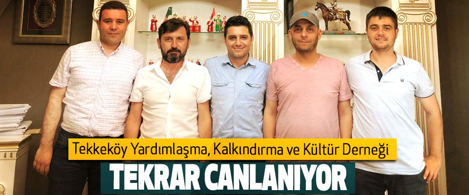 Tekkeköy Yardımlaşma, Kalkındırma Ve Kültür Derneği  Tekrar Canlanıyor